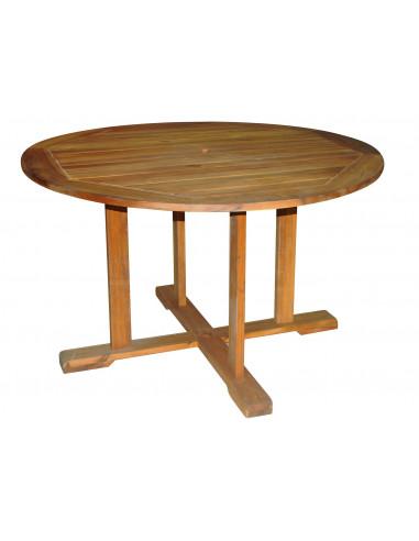 BEECHROW T30XS Table ronde en bois...