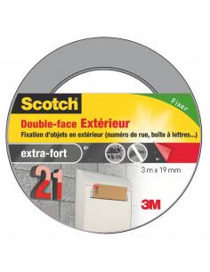 SCOTCH Double-face Extérieur 3m x 19mm