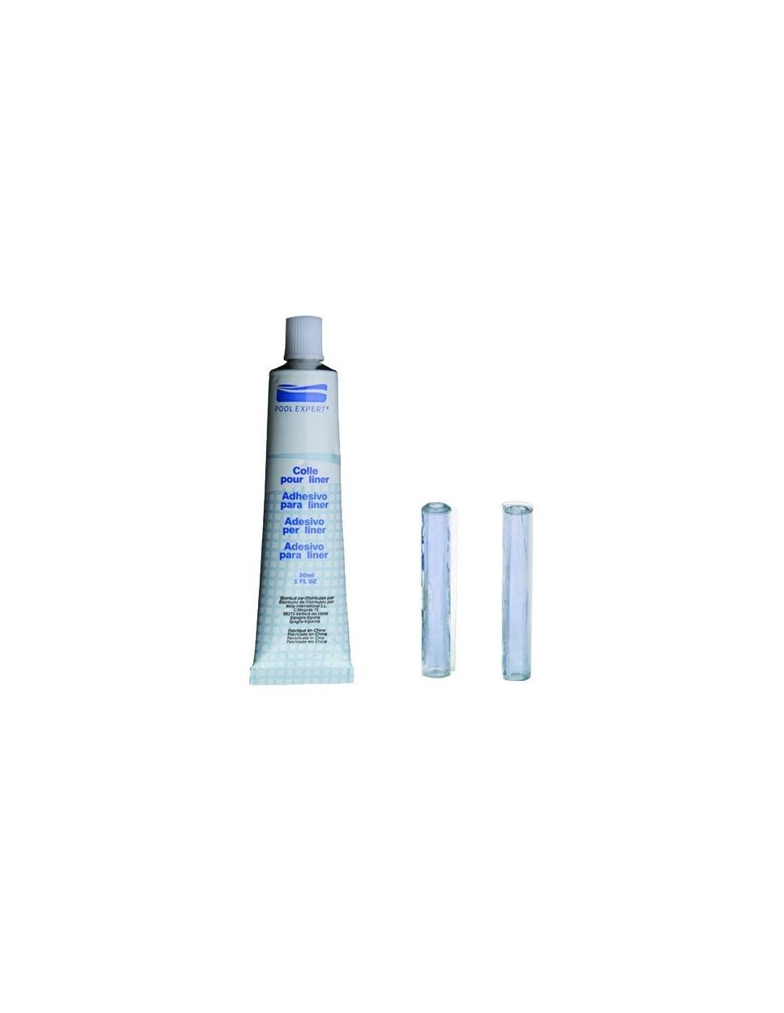 GRE Kit Réparation Liner Piscine (colle, Rustine Liner