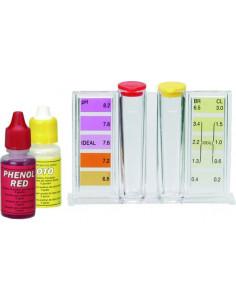 GRE Trousse chlore/brome + pH (Oto/Phénol)