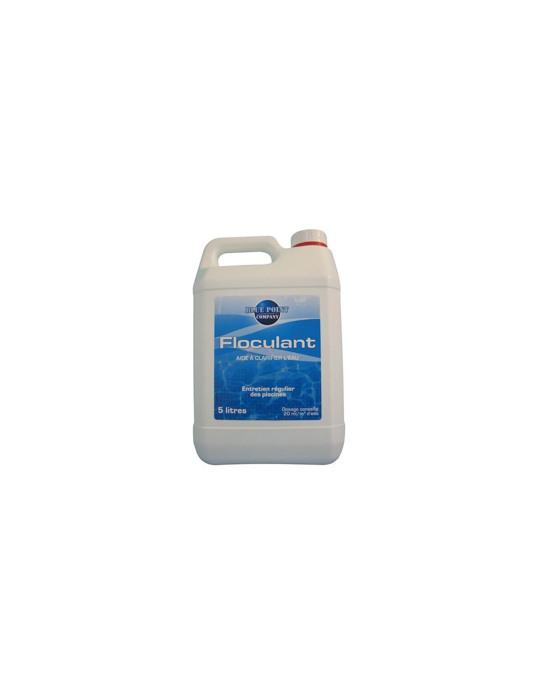 Hydrapro floculant liquide 5l hyper brico for Clarifiant liquide piscine