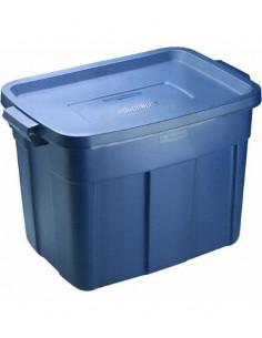 RUBBERMAID Contenant bleu renforcé 68L 18gallon