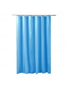 FRANDIS Rideau de douche peva bleu 180x200cm