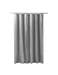 FRANDIS Rideau de douche peva gris 180x200cm