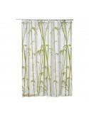 FRANDIS Rideau de douche PVC bambou 183x183cm