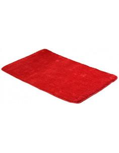 FRANDIS Tapis de bain coton rouge 50x80cm