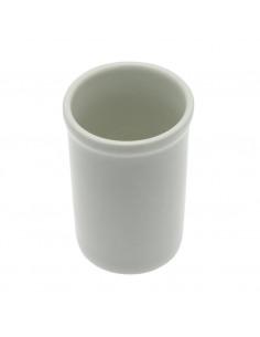 FRANDIS Gobelet Céramique Blanc 7x7x10,5 cm