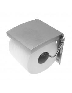 FRANDIS Dérouleur de Papier WC MDF/Inox Gris Argenté 210 g 135 x 117 x 25 mm