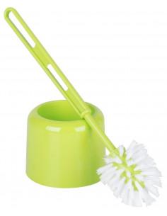 FORNORD Pot à Balai + Brosse WC Vert Anis Ø 11 x 35 cm