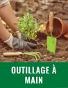 Outillage à main de jardin