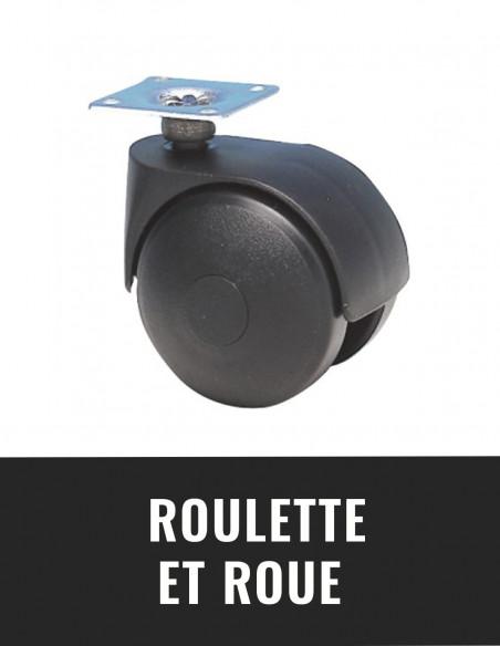 Roulette et roue