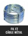 Fil et câble métal