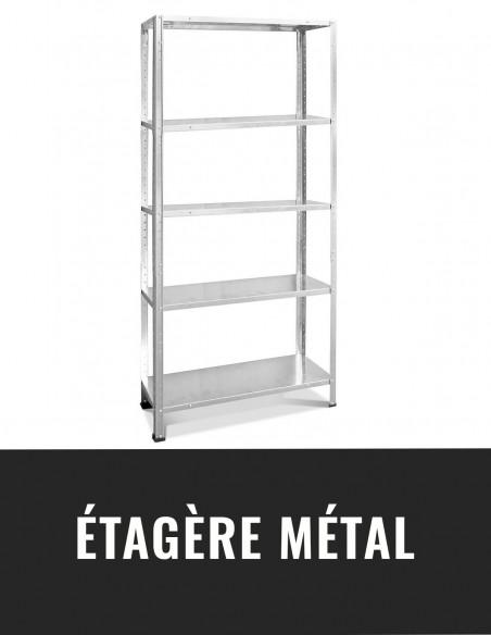 Etagère métal