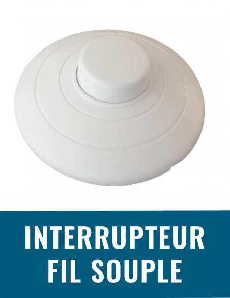 Interrupteur fil souple