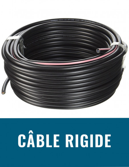 Câble rigide
