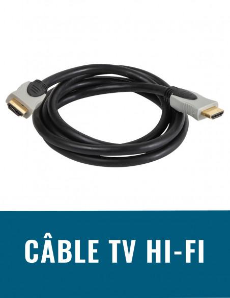 Câble TV Hi-Fi