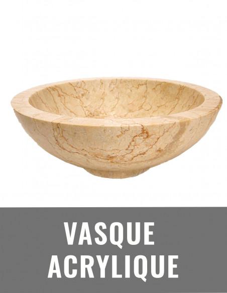 Vasque acrylique