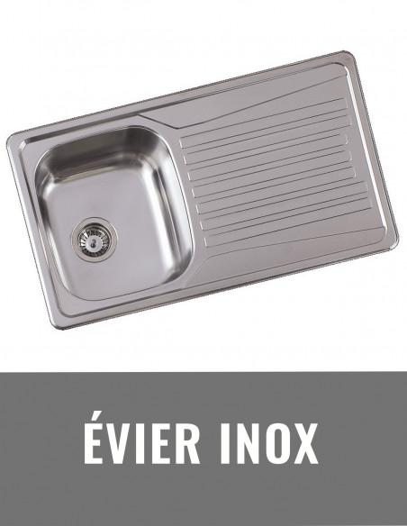 Evier inox