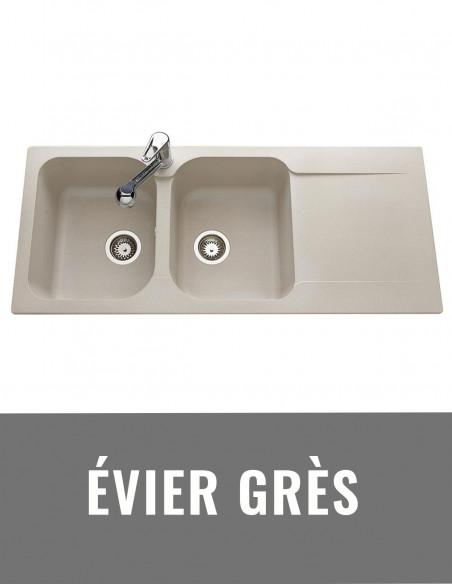 Evier grès