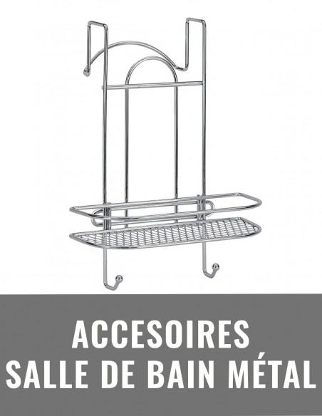 Accessoires de salle de bain métal