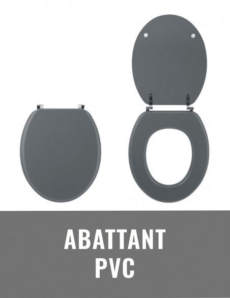 Abattant PVC