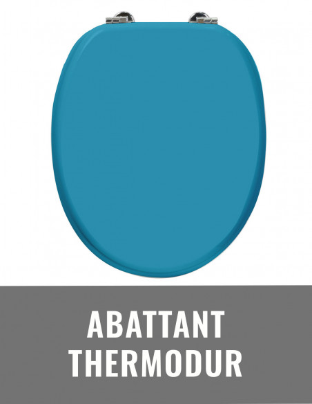 Abattant thermodur
