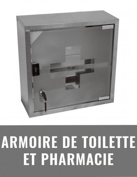 Armoire de toilette et pharmacie