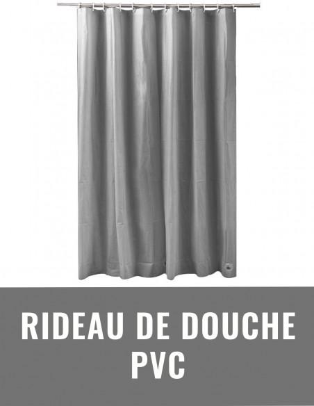 Rideau de douche PVC