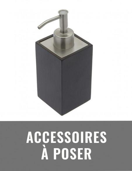 Accessoires de salle de bain à poser
