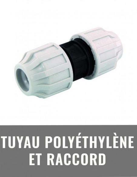 Tuyau polyéthylène et raccord