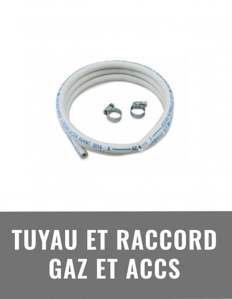Tuyau et raccord gaz et accessoires