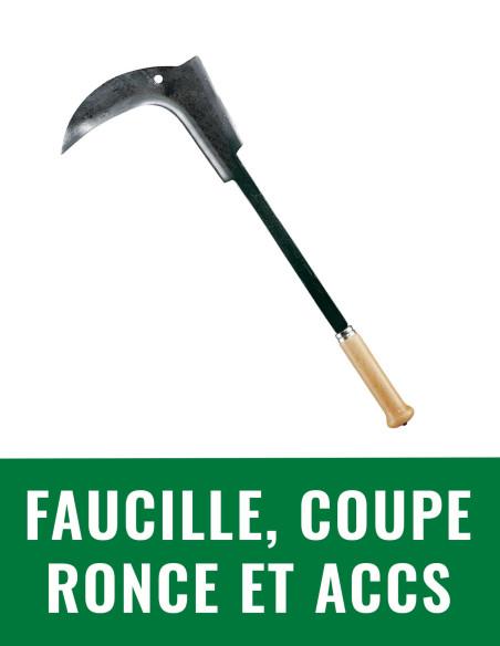 Faucille, coupe ronce et accessoires
