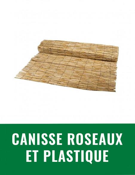 Canisse roseaux et plastique