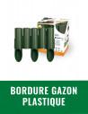 Bordure gazon plastique