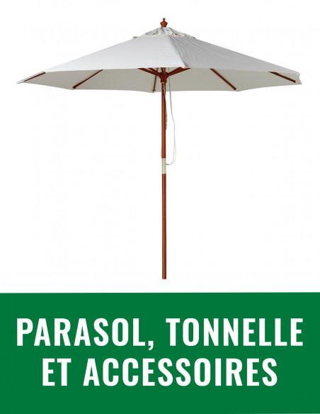 Parasol, tonnelle et accessoires