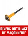 Divers outillage maçonnerie